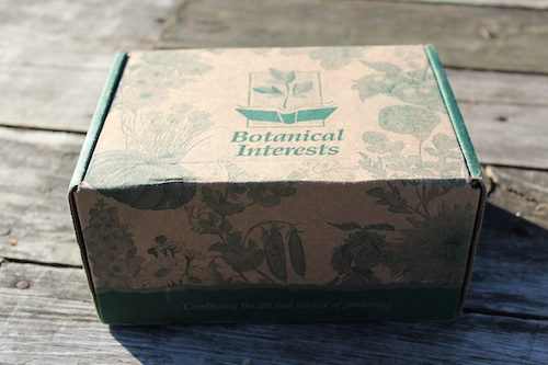 Package from Botanical Interests