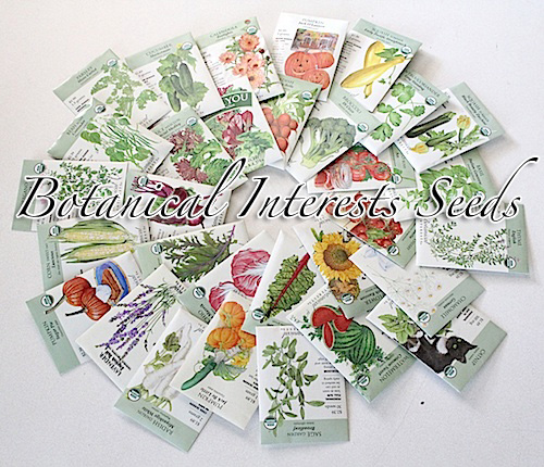 Seeds from Botanical Interests