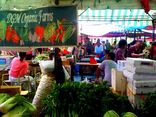 Centris Farmers Market in Quezon City Philippines