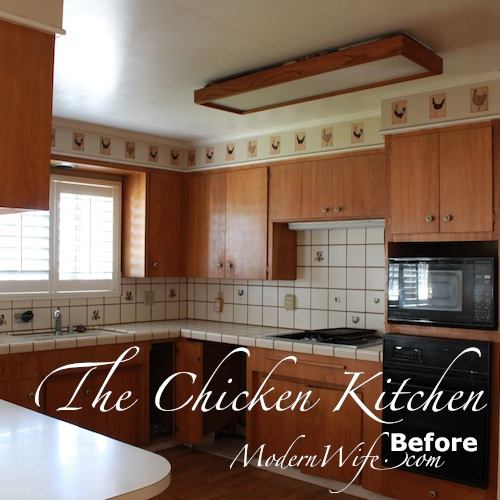 Chicken Kitchen Before