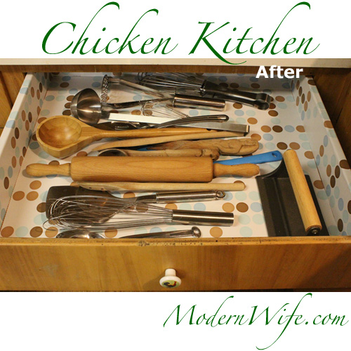 Chicken Kitchen Drawer