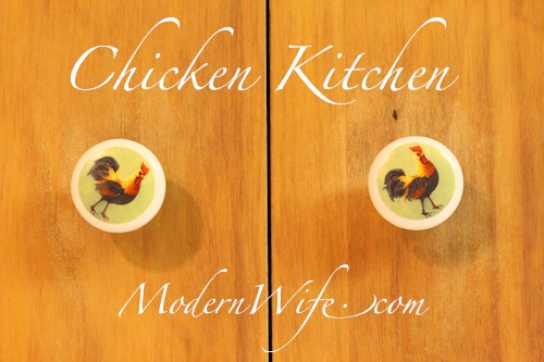 Chicken Kitchen Knobs