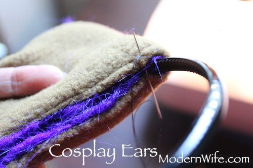 How to Sew Cosplay Ears