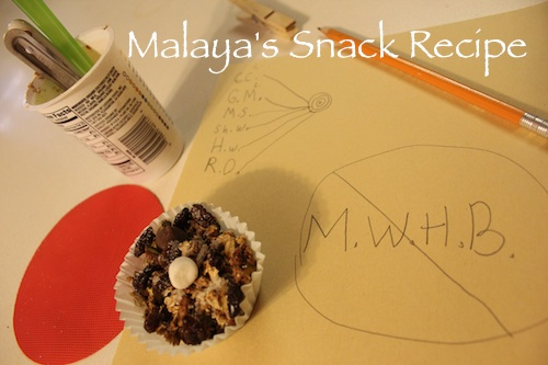 Malaya's snack recipe