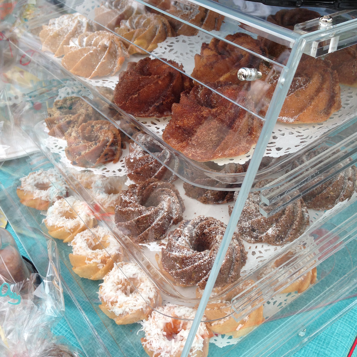 Farmers Market Finds: mini bundt cakes